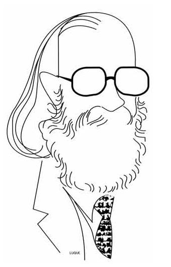 Caricatura Joaquín Díaz