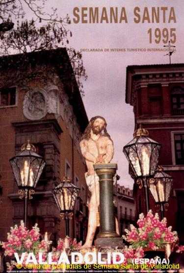 Semana Santa de Valladolid cartel de la JCSSVA 1995
