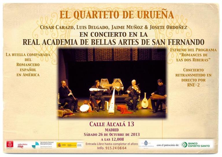 Quarteto de Urueña (26-10-13)