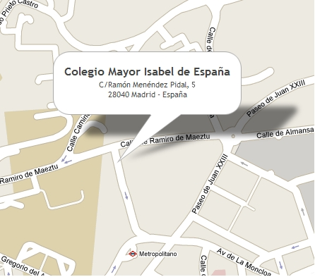Colegio Mayor Isabel de España (Madrid) - Ubicación