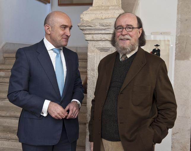 Joaquín Díaz y Jesús Julio Carnero (Julio 2014)