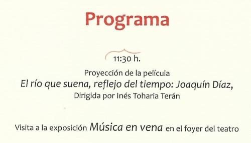 Homenaje a Joaquín Díaz 02.2