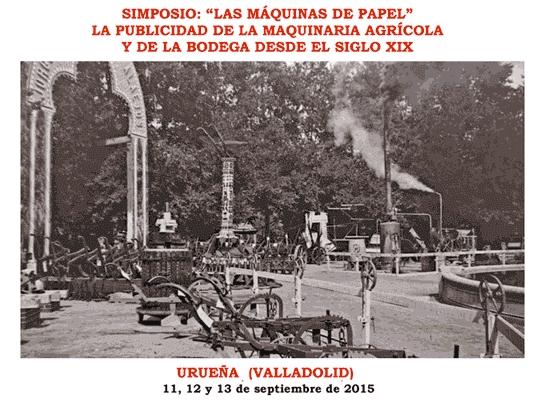 Simposio Las máquinas de papel (Septiembre 2015)