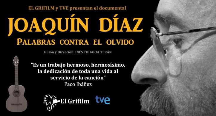 Joaquín Díaz - Palabras contra el olvido