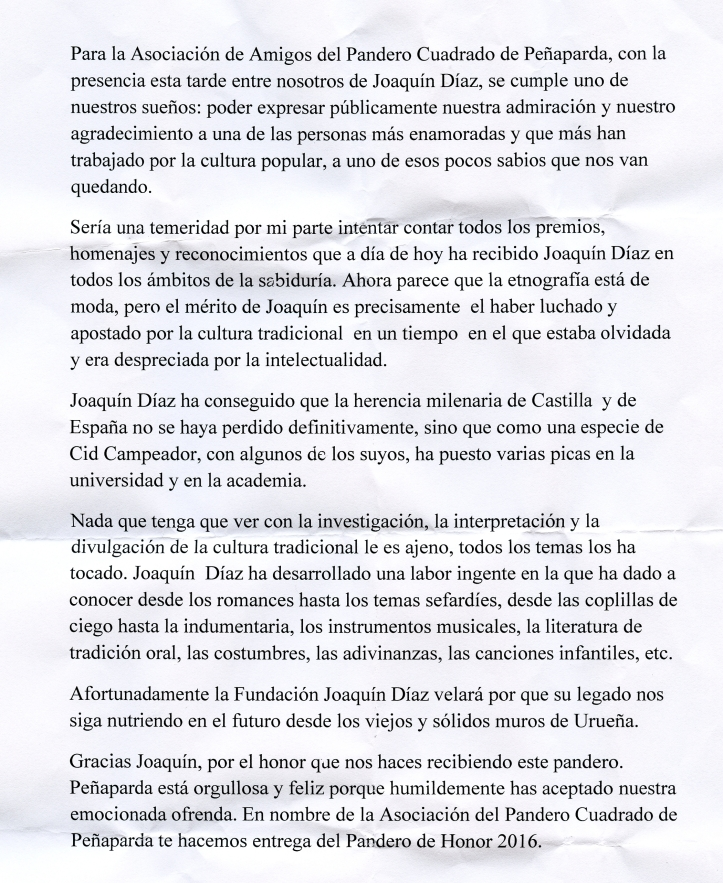Texto Asociación amigos Pandero Cuadrado (31-7-16) RECORTADO